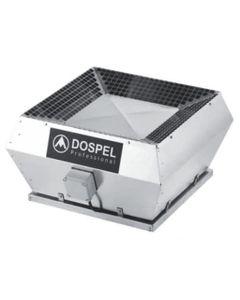 Wentylator dachowy WDD 250 Czarny DOSPEL