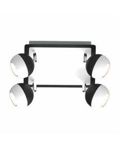 Lampa sufitowa KOMBI 4x35W czarny IDEUS