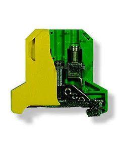 Zlaczka szynowa ochronna 4 zólto-zielona