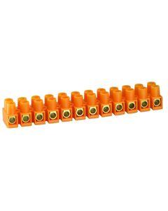 Listwa zaciskowa 12-torowa 10mm LTF pomaranczowy SIMET