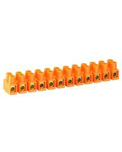 Listwa zaciskowa 12-torowa 16mm LTF pomaranczowy SIMET