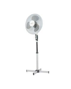 Wentylator stojący 3-prędkości 40W 40cm biało + szary VO0026