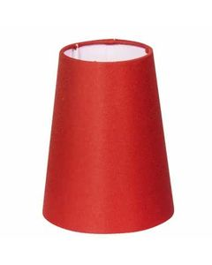 Abazur do lamp CONE Czerwony
