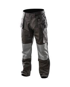 Spodnie robocze rozmiar S/48 odpinane kieszenie i nogawki NEO szary