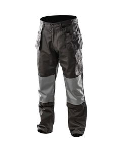 Spodnie robocze rozmiar XXL/58 odpinane kieszenie i nogawki NEO szary