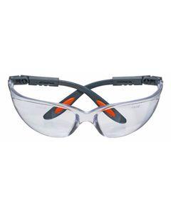 Okulary ochronne poliwęglanowe białe soczewki