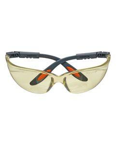 Okulary ochronne poliwęglanowe żółte soczewki