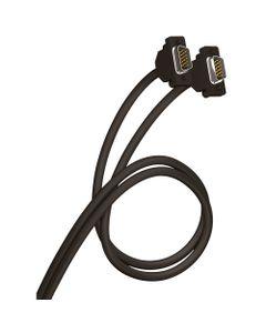 Kabel VGA D-Sub15 (M) - VGA D-Sub15 (M) biały 10m HD15 051723