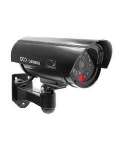 Atrapa kamery monitorującej CCTV, bateryjna, czarna OR-AK-1208/B