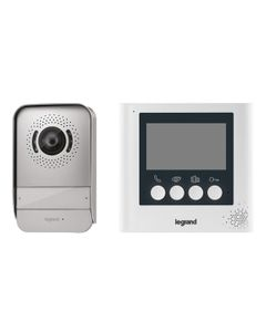 Zestaw wideodomofonowy 4,3cala /panel zewnętrzny, zasilacz, wideodomofon/  369110