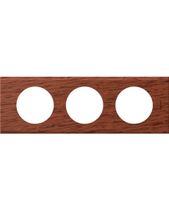 CELIANE Ramka potrójna drewno Poziomy i pionowy Linia Materials 069223