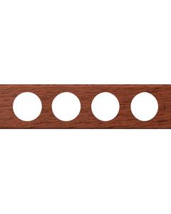 CELIANE Ramka poczwórna drewno Poziomy i pionowy Linia Materials 069224