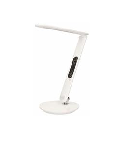 Lampka biurkowa z wyświetlaczem LCD CRYSTAL LED 6,5W 46SMD 500lm 4000K biała OR-LB-1522