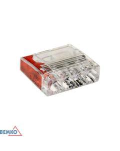 Szybkozlaczka BEMKO 4x2,5 czerwony