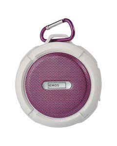 Przenośny odtwarzacz multimedialny Soundbox różowy EMOS