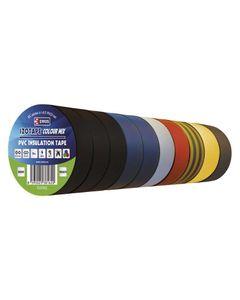 Tasma izolacyjna PVC 15mm/10m mix EMOS