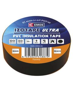 Tasma izolacyjna PVC 19mm/10m czarna EMOS