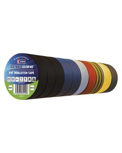 Tasma izolacyjna PVC 19mm/20m mix EMOS