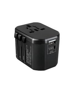 GOworld uniwersalny adapter podróżny do ponad 200 krajów świata, 100-240V, 8A OR-AE-13173