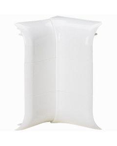 Kątownik wewnętrzny profilowany DLPLUS 80x20 biały 033745