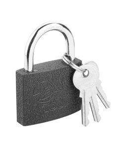 Kłódka żeliwna 50 mm 3 klucze 90U302