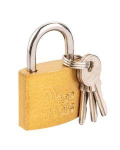 Kłódka żeliwna 40 mm 2 klucze 90U271