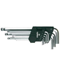Klucze sześciokątne 1.5-10  mm 35D957 /zestaw 9 szt./