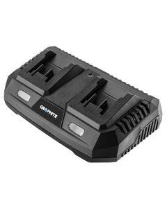 Ładowarka podwójna do akumulatorów Energy+ 58G085