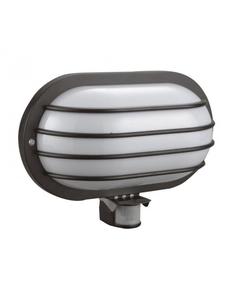 Lampa ogrodowa z czujnikiem ruchu SOLANO 60W Czarny IP44