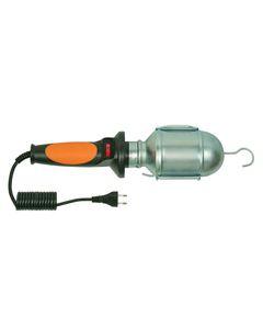 Oprawa warsztatowa 60W E27 pomarańczowa /H05RN-F 2x0,75 5m/ IP20 D.3036G