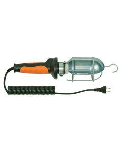 Oprawa warsztatowa 60W E27 pomarańczowa /H05RN-F 2x0,75 10m/ IP20 D.3037G