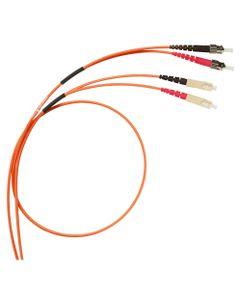 Patch cord światłowodowy ST/SC duplex ...