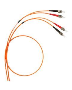 Patch cord światłowodowy ST/ST duplex ...