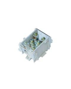 Listwa zaciskowa LG 1x95/35 termoplastyczna z osłoną TH35 E.4027