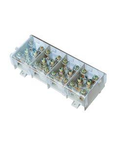 Listwa zaciskowa LG 4x95/35 termoplastyczna z osłoną TH35 E.4026
