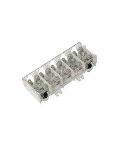 Listwa zaciskowa LG 5x25/16 termoplastyczna z osłoną TH35 E.4029