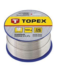 Lut cynowy 60% Sn drut 1.0 mm 100 g 44...