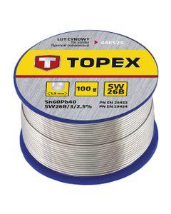 Lut cynowy 60% Sn drut 1,5mm 100g 44E524
