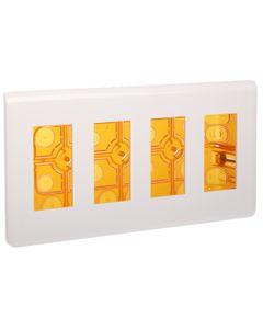 MOSAIC Ściemniacz przyciskowy 40-600VA 240V biały 078404