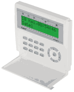 Manipulator LCD /zielone podświetlenie/ INTEGRA INT-KLCD-GR