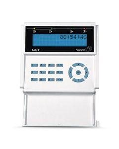Manipulator LCD z czytnikiem kart zbliżeniowych niebieskie podświetlenie biała obudowa ACCO-KLCDR-BW...