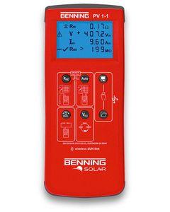 Miernik instalacji fotowoltaicznej BENNING PV 1-1 50421