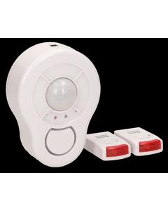 Bezprzewodowy mini alarm sterowany pil...