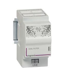 Rozdzielacz sygnału telefonicznego z filtrem ADSL 413015