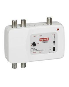 Wzmacniacz sygnału UHF + VHF 862 MHz 1 wejście/ 4 wyjścia  073951