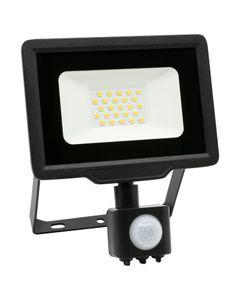 Naświetlacz LED XENO 20W z czujnikiem ruchu  1600lm 6500K IP65 ANLUX LED2-NL-XENO-S-20W-CW