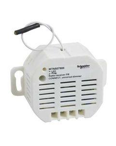 Merten Odbiornik radiowy pojedynczy Connect uniwersalny do ściemniaczy 25-250VA MTN507900