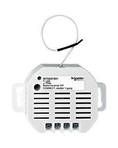 Merten Odbiornik radiowy pojedynczy Connect żaluzjowy 230V 6A MTN507801