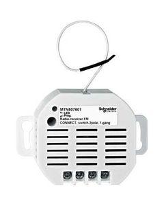 Merten Odbiornik radiowy pojedynczy Connect 2-polowy 230V 10A MTN507601