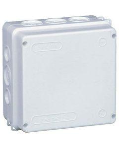 Puszka natynkowa hermetyczna z wkładem 5x25mm IP55 biały TAREL